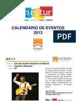 Calendário de Eventos - 2013