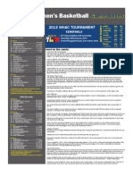Siena Heights Women's Game Notes vs Concordia
