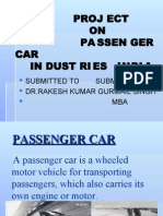 Passenger Car Project