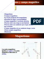 Magnetismo y Campo Magnético