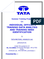 Training Needs Identification By Desuza
