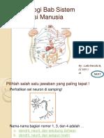 Soal Biologi Bab Sistem Koordinasi Manusia.pptx