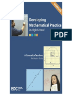 Developing Mathematical Practice in High School - Sampler
