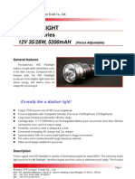 X1 HID Flashlight Longer Specification