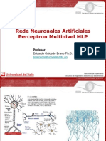 perceptron multinivel(MLP)