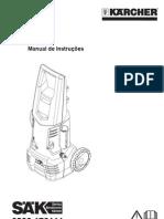 Manual de Instruções da lavadeira Karcher