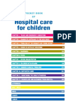 Who Pocket Book Hospital Care for Children