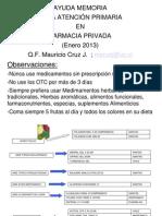 MCJ-mini vademecum-atencion 1º-fcia privada-enero-2013