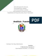 Analisis Fuentes Del Derecho d.h