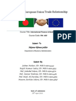 Bangladesh - European Union Trade Relationship