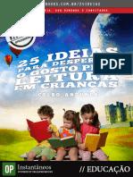 25 Ideias Para Despertar o Gosto Pela Leitura Em Criancas 1344309823