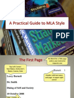 A Practical Guide to MLA