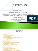 Portafolio de Bioseguridad II Terminado