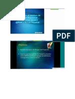 Introducción al análisis de riesgo en Proyectos con la nueva versión @RISK v 6.1 en Español