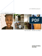 2011 JUSTICEWATER Annual Report