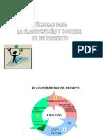 Planificacion. Control de Proyecto