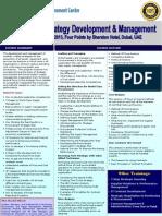 Seminar Procurement Strategy Development Dubai