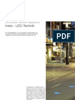 Insta 122 166 LED Applikationen Katalog 2006