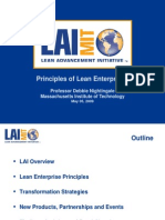 Principles of Lean Enterprises