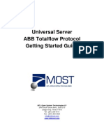 ABB Totalflow Getting Started