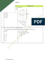 Pembahasan soal matematika snmptn 2012