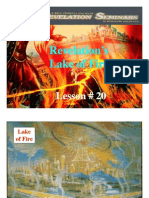 Lesson 20 Revelation Seminar - Lake of Fire