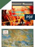 Lesson 20 Revelation Seminar - Lake of Fire