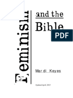 Feminism and the Bible by Mardi Keyes