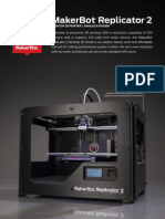 MakerBot Replicator 2 Brochure
