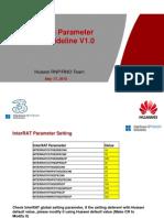 3G Huawei New Sites Parameter Setting Guideline V1.0