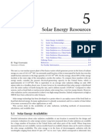 5 Solar Energy Resources