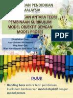 Minggu 16-Perbandingan Antara Teori Pembinaan Kurikulum Model Objektif Dengan