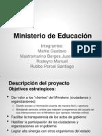 Tp final - Caso 2 - Ministerio de educación Resuelto