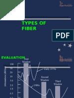 04 TYPES OF fIBER