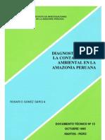 Selva Amazonia Estudios de Contaminacion
