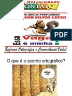 Acordo Ortografico Silvio Lucio
