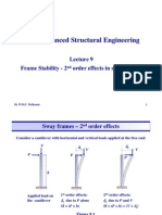 9- Ctr 11119 - Notes - Structural Steelwork - Frame Stability - EC3 (1)