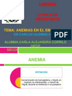 Anemias en El Embarazo