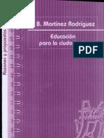 Educación para ciudadanía