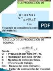 Curso Calculo Produccion Maquinarias