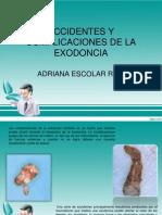 Accidentes y Complicaciones de La Exodoncia