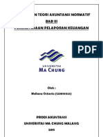 Rangkuman Teori Akuntansi Normatif Bab 3 (Perekayasaan Laporan Keuangan)