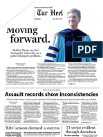The Daily Tar Heel for April 26, 2013