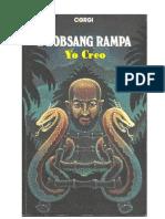 Lobsang Rampa T - Yo Creo