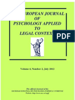 Therapeutic Effects of a Cognitive-behavioural Treatment With Juvnile Offenders