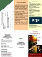 Curso Clarinete javier trigos