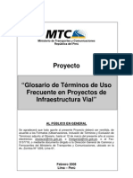 Glosario Terminos en Ing. Civil