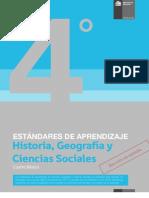 Estandares de Aprendizaje Historia, Geografia y Ciencias Sociales 4 Basico