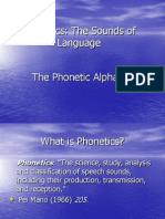 Chapter 6 Phonetics