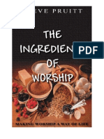 The Ingredients of Worship Book